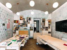 Papelote-Schreibwaren-Laden // A1Architects // Prague, Czech Republic