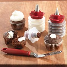 This would make filling cupcakes so easy!