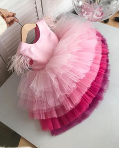 Pink Layered Girls Party Dress Pink Layered Girls Party Dress,baby girl clothes Pink Layered Girls Party Dress – LaurenHeleneCouture There are images of the best DIY designs in the world. Baby Girl Birthday Dress, Baby Girl Party Dresses, Little Girl Dresses, Party Gowns For Kids, Kids Party Frocks, Pink Dresses For Kids, Kid Dresses, Princess Tutu Dresses, Baby Tutu Dresses