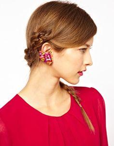 Aumentar Ear cuffs con piedras grandes de ASOS