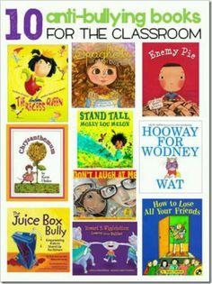 Anti-bullying books