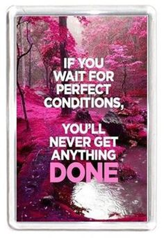 Perfect Get Done Condition Waste Life Away Quote Saying Gift Fridge Magnet