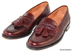 Magnanni Dress Loafers Slip on Burgundy Mens Spain Tassel Size 10 N | eBay