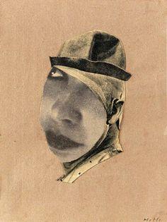 Clown by Hannah Höch, 1924