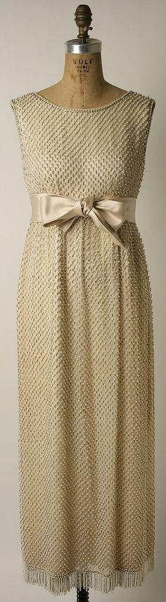 Evening dress Norman Norell 1963