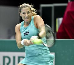 Shahar Peer def. by Camila Giorgi 1 - 6, 4- 6 in the Katowice Open QFs. 4/11/14