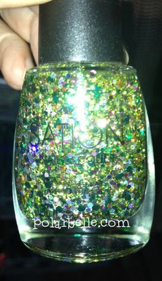#Sation Nail Polish - click thru for more #pictures #swatches #glitter #nailart #nails #notd #nailpolishbloggers #nailbloggers #beautybloggers #bbloggers #bbcoalition via @Polarbelle