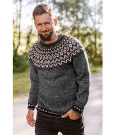 Mens Clothing Styles, Men Sweater, Fashion Outfits, Pullover, Knitting, Sweaters, Clothes, Diy, Threading