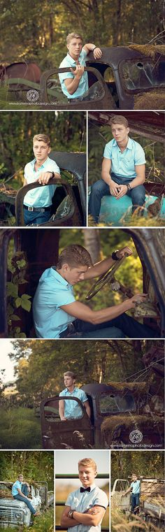 Photography. Seniors.  Vintage senior photography shoot.  Great props, location, and posing ideas.