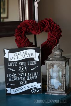 You are my forever, love you then and love you still, always have always will distressed wooden sign.