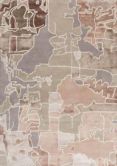 Pazzo - Various - Katalog Textured Carpet, Beige Carpet, Diy Carpet, Carpet Tiles, Rugs On Carpet, Earth Texture, Map Quilt, Interior Rugs, Interior Design