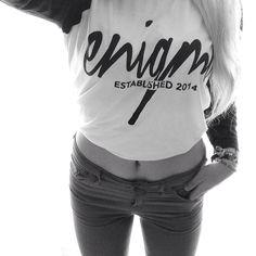 Basketball t-shirt; enigma clothing