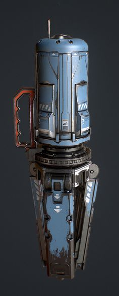 ArtStation - EMET's Dropship Beacon, Loren Broach