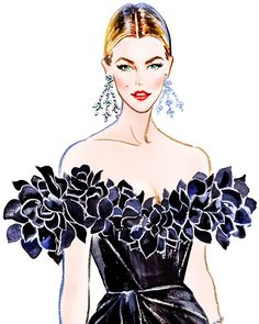 Cannes 2016: Karlie Kloss looks gorgeous in a Marchesa dress at Amfar Gala Illustration by Sunny Gu Get updates from Facebook...