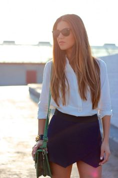 Negin Mirsalehi / Classic Navy // via bestfashionbloggers.com