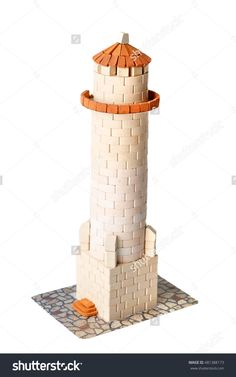 Teifoc castle teifoc brick mortar sets pinterest for Mud brick kit homes