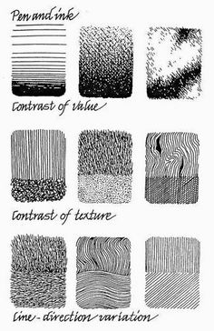 Keeping the Wōnder ⋯: Teaching art: Patterns & Details – Kunstreferenz – Ink Pen Art, Ink Pen Drawings, Horse Drawings, Stylo Art, Cartoon Tutorial, Texture Drawing, Pen Sketch, Sketches, Ink Illustrations