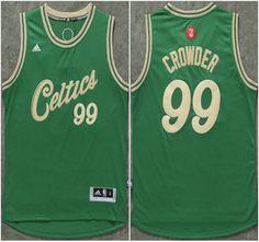 34339ee1ec09 Boston Celtics Jersey 4 Isaiah Thomas Revolution 30 Swingman 2015 Christmas  Day Green Jerseys Jae Crowder