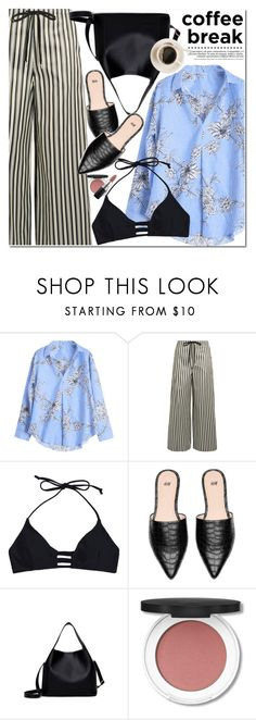"""""""Coffee Break"""" by oshint ❤ liked on Polyvore featuring McQ by Alexander McQueen and MAC Cosmetics"""