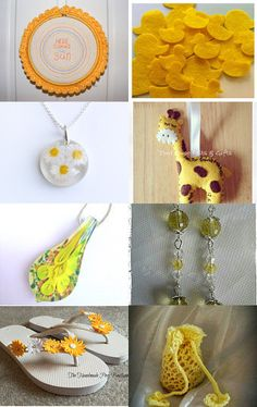 Mellow Yellow by Lisa Hutchens on Etsy--Pinned with TreasuryPin.com