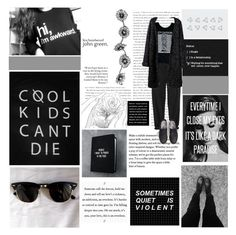"""""""Every time I close my eyes It's like a dark paradise No one compares to you I'm scared that you won't be waiting on the other side Every time I close my eyes It's like a dark paradise"""" by sweetdreamer13 ❤ liked on Polyvore featuring Dead Castle Project and GG 750"""