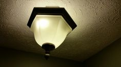 Existing light fixture