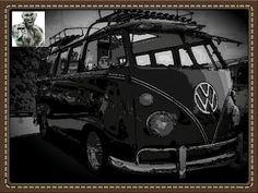 Volkswagen microbus 1963 illustration