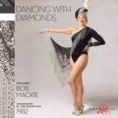 "In 1982, Bob Mackie's ""Dancing With Diamonds"" costume put the #Rockettes in the company of his well-known clientele—including Cher, Judy Garland, Diana Ross, Official Liza Minnelli and Tina Turner."