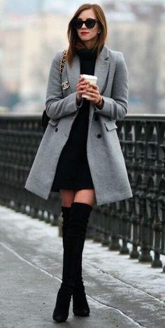 ZARA New Coat Buttoned Masculine Wool  Grey Size S  | eBay