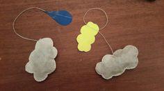 Sachets de thé nuage ( filtre à café,  thé et fil de couture! )