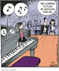 37 Trendy Music Cartoon The Piano Piano Memes, Piano Funny, I Love Music, Music Is Life, Good Music, Music Jokes, Music Humor, Music Lessons, Piano Lessons
