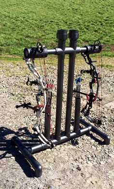 My latest PVC bow holder - Georgia Outdoor News Forum