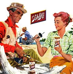 this is mike and I except I'm usually fishing more while he takes care of the beer lol!