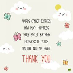 Thank you for birthday wishes on facebook twitter instagram etc 65 thank you status updates for birthday wishes m4hsunfo Image collections