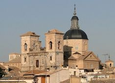 Plik:Church of San Ildefonso, Toledo, Ildefonsus is considered a patron saint of Toledo, as well as of Zamora, and several smaller towns.