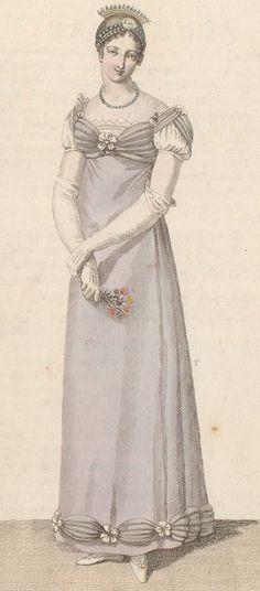 Journal des dames et des modes / Costume Parisien: 31 Octobre, 1812 (a)