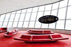 Eero Saarinen's TWA Flight Center at New York's John F. Kennedy International Airport (JFK)