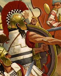 Thermopylae, by Johnny Shumate Ancient History, Art History, Greco Persian Wars, Greek Soldier, Hellenistic Period, Greek Warrior, Trojan War, Medieval Armor, Historical Pictures