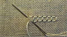 THE SEW THERAPY: PUNTO ANTICO - TUTORIAL 1 Embroidery Designs, Types Of Embroidery, Learn Embroidery, Hardanger Embroidery, Embroidery Stitches, Hand Embroidery, Bookmark Craft, Drawn Thread, Cross Patterns