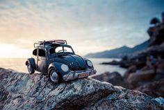 Modellautos auf Reisen