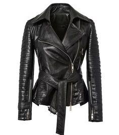 Leather jacket - Pavement - Leather jackets - Jackets & Outerwear - Women - Modekungen
