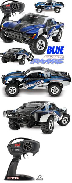 Cars Trucks and Motorcycles 182183: ~New~Traxxas Slash Xl-5 2Wd Rtr W Tq 2.4Ghz Short Course Electric Rc Truck Blue -> BUY IT NOW ONLY: $189.95 on eBay!