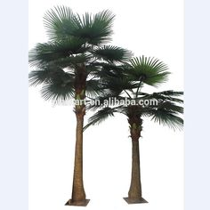Trees Plant Type and plastic+PE/silk fabric,wire,Plastic Material outdoor decorative palm trees