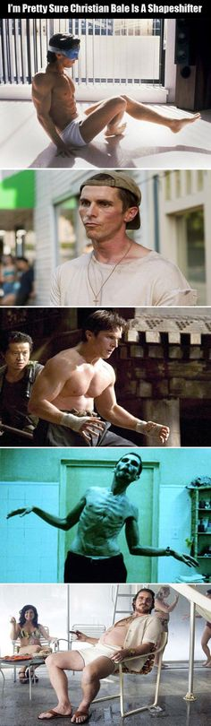 Random Pictures Of The Day – 61 Pics---->>> HOLY CRAP!! Christian Bale was on the chubby side once?