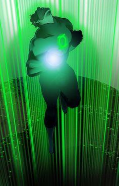 Green Lantern/Hal Jordan by Mike Ballan Green Lantern 2011, Green Lantern Comics, Green Lantern Hal Jordan, Green Lanterns, Blue Lantern, Dc Comics Superheroes, Dc Comics Art, Marvel Dc Comics, Anime Comics