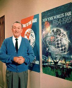 The Chief Imagineer himself, Walt Disney.