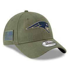 56a16f47f New England Patriots New Era Women s 2018 Salute to Service Sideline  9TWENTY Adjustable Hat – Olive