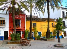 Marbella (old town), Spain--this is where our time share was-in Marbella