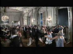 The party scene from the Great Gatsby movie shows Gatsby's lack of any real meaningful relationships and his complete devotion to impress Daisy with his wealth.