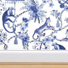 Self Adhesive Wallpaper, Custom Wallpaper, Wall Wallpaper, Pattern Wallpaper, Kitsch, Plywood Furniture, Furniture Design, Hollywood Regency, Cabana